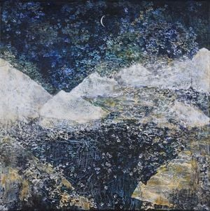 Frontier by Tsang Chui Mei contemporary artwork painting