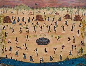 Wathaurung Get Together by Marlene Gilson contemporary artwork