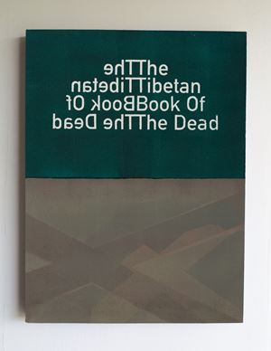 The Tibetan Book Of The Dead (5) by Heman Chong contemporary artwork
