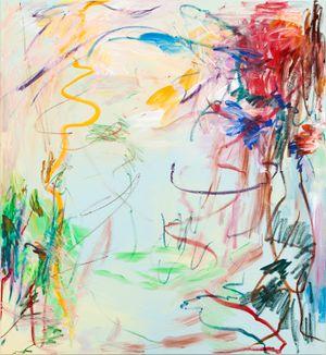Blossoming rain No.1 by Wang Xiyao contemporary artwork