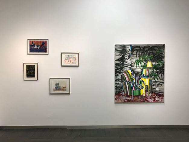 Exhibition view: Group exhibition, COME IN! INTERIEURS, Beck & Eggeling International Fine Art, Düsseldorf (7 February–23 March 2019). Courtesy Beck & Eggeling International Fine Art.