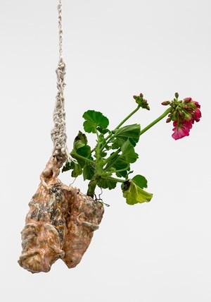 Bud Vase (Mountain Slide Hanger) by Christian Holstad contemporary artwork