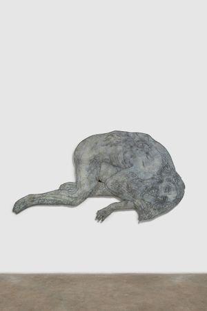 Fallen by Kiki Smith contemporary artwork