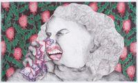Hazel by Vidha Saumya contemporary artwork works on paper