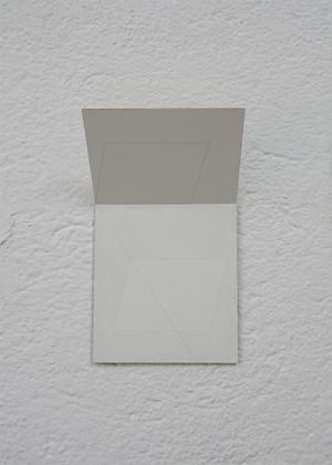 Folding Drawing #5 by Jong Oh contemporary artwork