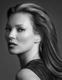 Kate Moss Diamond Dust by Andy Gotts contemporary artwork photography, print, mixed media