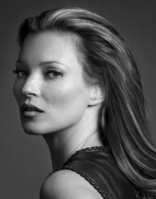 Kate Moss Diamond Dust by Andy Gotts contemporary artwork