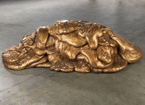 EAT MEAT by Lynda Benglis contemporary artwork