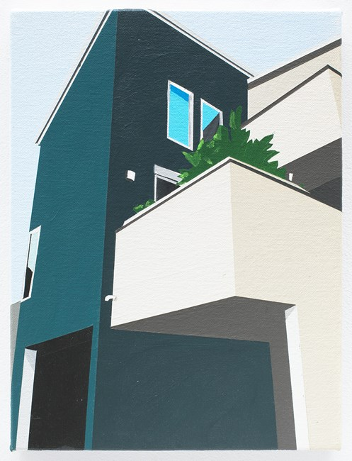 Take and Reiko's House by Brian Alfred contemporary artwork