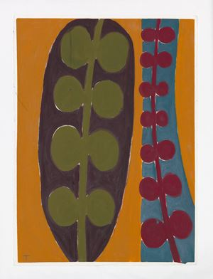 Plant Motif by Tuukka Tammisaari contemporary artwork