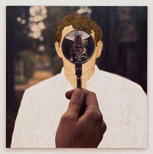 Fokus / Focus by Stephan Balkenhol contemporary artwork