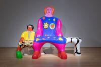 Le Banc des Generations by Niki de Saint Phalle contemporary artwork sculpture