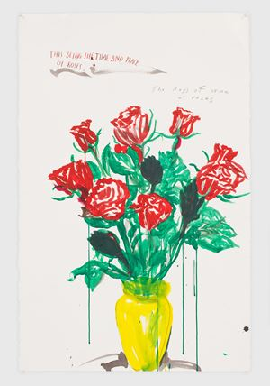 No Title (This being the...) by Raymond Pettibon contemporary artwork