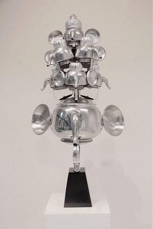God of Success by Komkrit Tepthian contemporary artwork