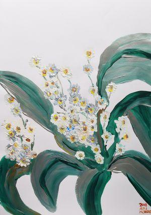 Silver World by Aki Kondo contemporary artwork