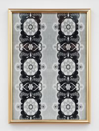 Floral Poles by Julian Dashper contemporary artwork print