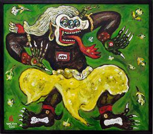 Calon Arang by Heri Dono contemporary artwork