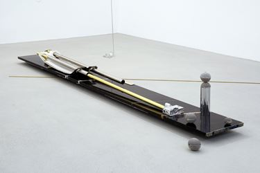 Exhibition view: Luca Vitone, Georgia Dickie and David Jablonowski, Rolando Anselmi, Berlin (24 March–24 April 2018). Courtesy Rolando Anselmi, Berlin.