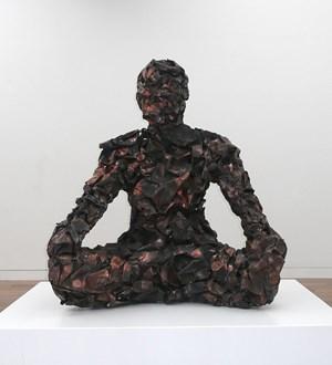 Copper Guardian by Xavier Mascaró contemporary artwork sculpture