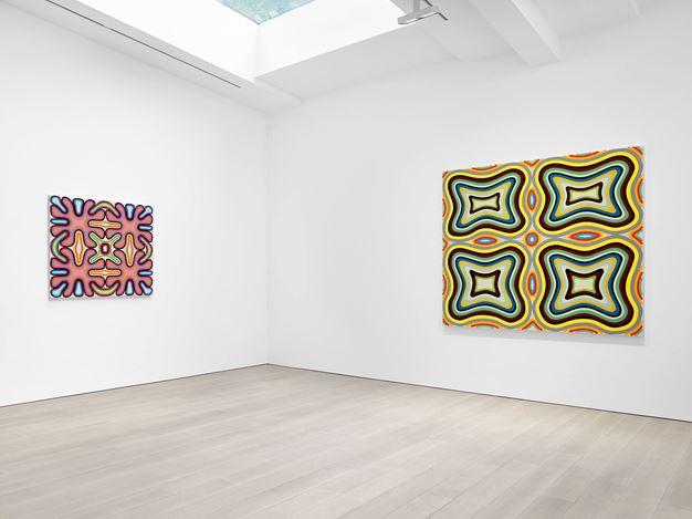 Exhibition view: Warren Isensee, Miles McEnery Gallery, West 22nd Street, New York (16 July–28 August 2020).Courtesy Miles McEnery Gallery.