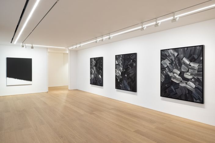 Exhibition view: Lee Bae, Paradigm of Charcoal, Perrotin, Hong Kong (7 August–11 September 2021). Courtesy the artist and Perrotin.Photo: Ringo Cheung.