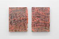 Mora 55 x 40—Untitled #02-1 & #02-2 by Suki Seokyeong Kang contemporary artwork painting