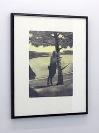 Treehugger by Jason Greig contemporary artwork print