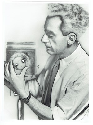 Selfportrait by Man Ray contemporary artwork