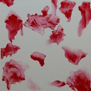 Secret Garden #258_white,red by Moon Beom contemporary artwork