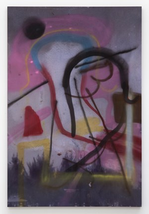 Untitled (Spray paint painting) by Julian Schnabel contemporary artwork