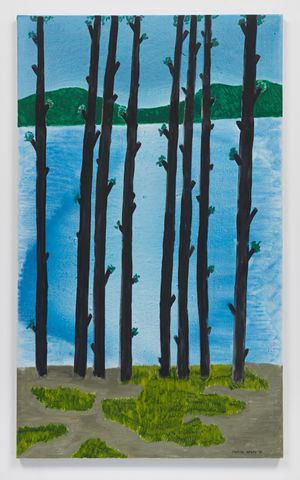 Tall Pines II by March Avery contemporary artwork