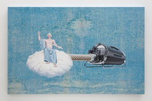 The Ascension of George Washington by Jim Shaw contemporary artwork