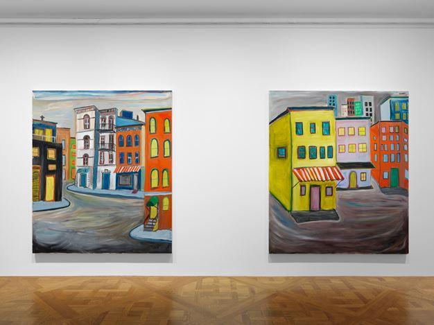 Exhibition view: Josh Smith, Spectre, David Zwirner, 69th Street, New York (15 September–24 October 2020). Courtesy David Zwirner.