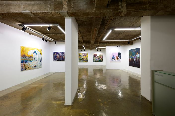 Exhibition view: Pierre Knop,Tetrachromatic Visions, Choi & Lager Gallery, Seoul (10 December 2020–10 February 2021). Courtesy Choi&Lager Gallery.