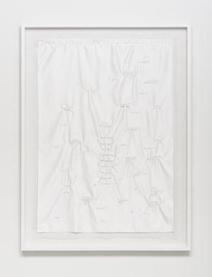 Poem by Hwang Jin-Yi by Koh San Keum contemporary artwork