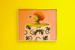 Salamander Portrait by Nicolas Party contemporary artwork