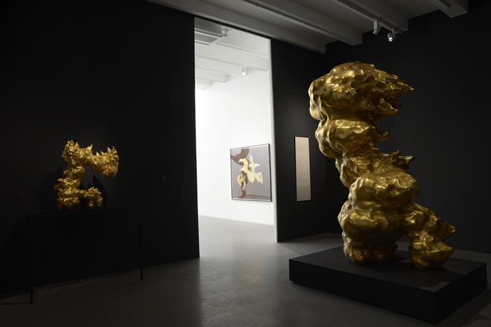 Exhibition view: Li Chen, Ethereal Cloud - New Works, Asia Art Center, Taipei (14 December 2019–5 April 2020). Courtesy Asia Art Center.