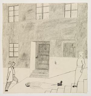 Över sten och trapp/ Over stone and steps by Jockum Nordström contemporary artwork
