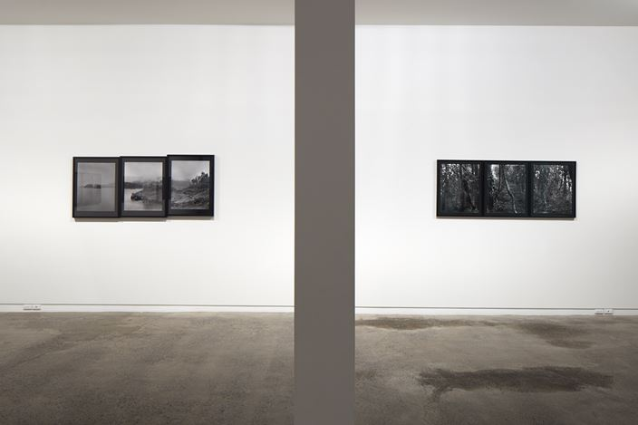 Exhibition view: Mark Adams, Views from Astronomer's Point, Two Rooms, Auckland (2 June–8 July 2017). Courtesy Two Rooms.
