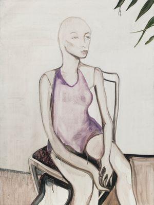 Self-portrait by Yan Bingqian contemporary artwork