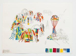 Antarctic Village - No Borders, expedition diary by Lucy + Jorge Orta contemporary artwork