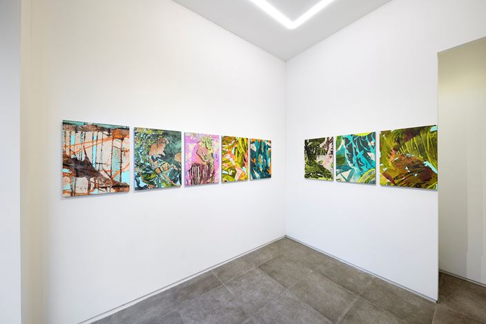 Exhibition view: Sojung Lee,Hinges, P21, Seoul (18 February–20 March 2020). Courtesy P21.