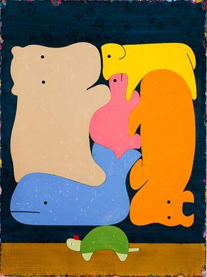 A Slow Migration 慢慢大遷徙 by Lai Chiu-Chen contemporary artwork