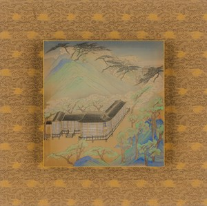 Eight Scenic Views of Yongfu Monastery: Clouds at Rest by Luo Ying contemporary artwork