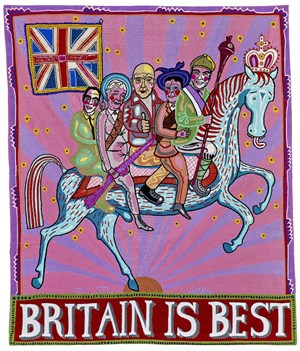 Britain is Best by Grayson Perry contemporary artwork
