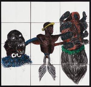 (Cognitive Dissonance) by Pierre Mukeba contemporary artwork