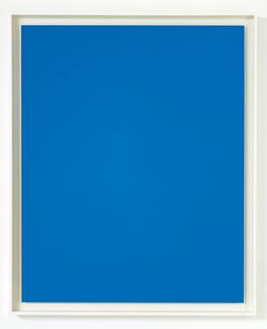 Blue Wool 7 by Liz Deschenes contemporary artwork