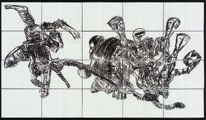 Talking Parrot by Pierre Mukeba contemporary artwork