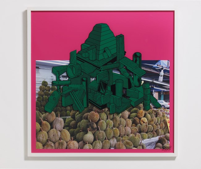 Games, Dance and the Constructions (Singapore) #10-A by Teppei Kaneuji contemporary artwork