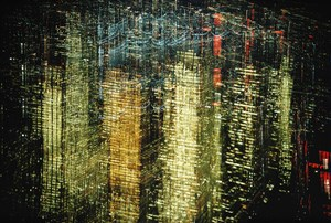 Lights of New York by Ernst Hass contemporary artwork